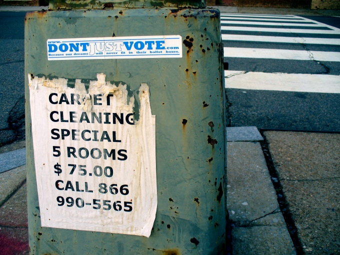 DontJustVote-CleanCarpets